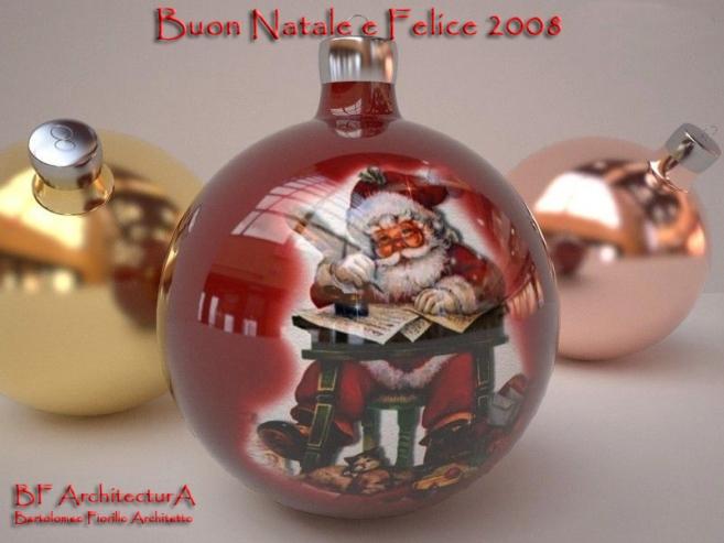 Buon Natale e Felice2008